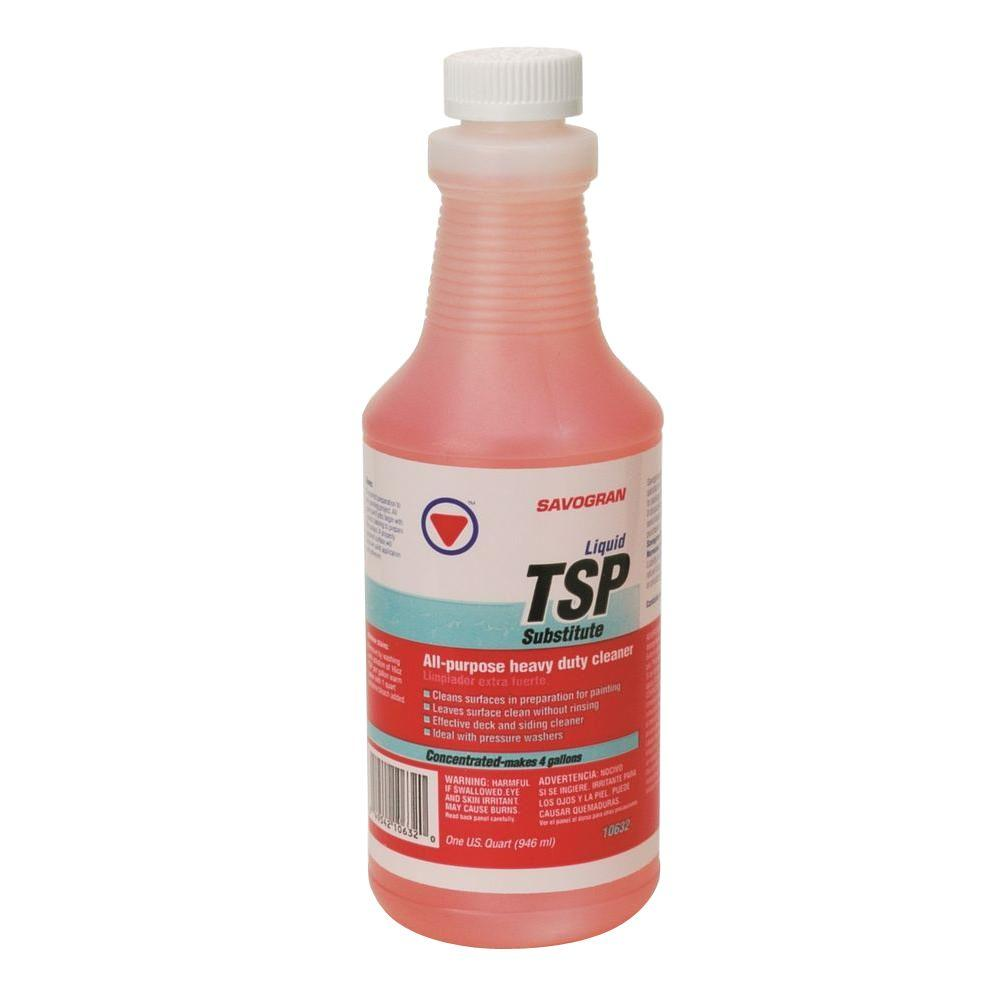 Savogran Quart Liquid TSP, available at Kelly-Moore Paints for Contractors.