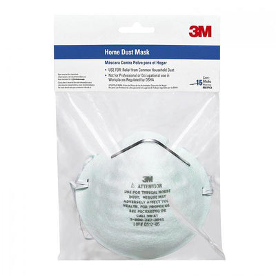 HOME DUST MASK 5/PK, available at Kelly-Moore Paints for Contractors.