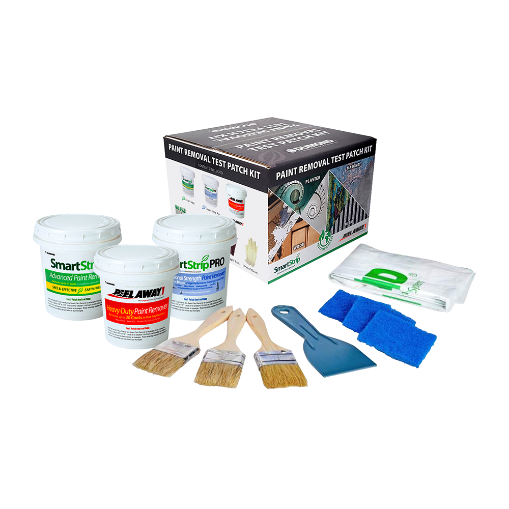 Dumond Complete Paint Removal Test Patch Kit, available at Kelly-Moore Paints for Contractors.