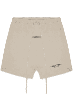 FEAR OF GOD ESSENTIALS SWEAT SHORTS OLIVE