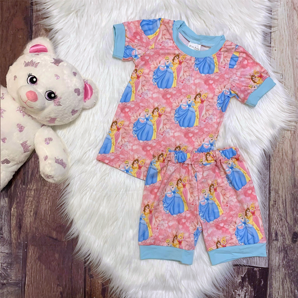 Princesses Pajamas Set
