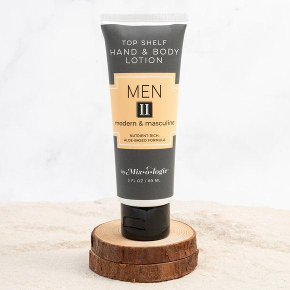 Men's Top Shelf Lotion - II (Modern & Masculine)
