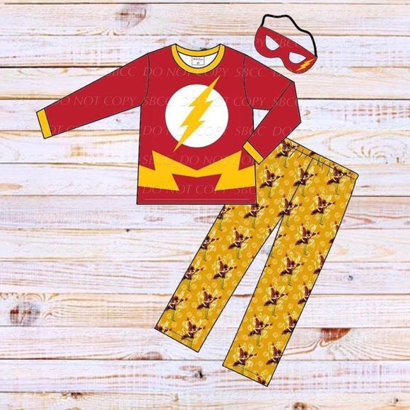 Superhero Loungewear Set-Flash