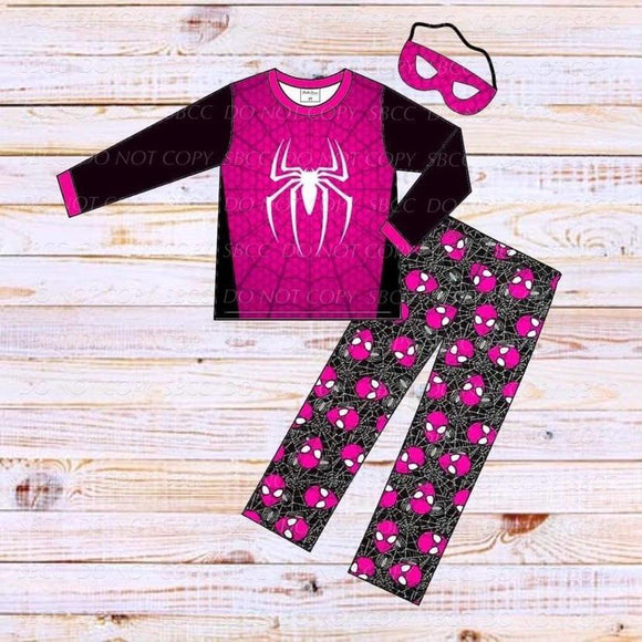 Superhero Loungewear Set-Spider Girl