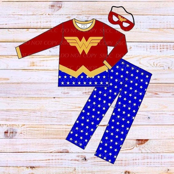 Superhero Loungewear Set-Wonder Woman