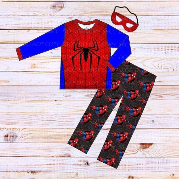 Superhero Loungewear Set-Spider Man