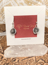Load image into Gallery viewer, Grey Quartz Captured Dangles