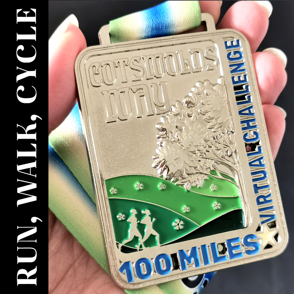 Cotswolds Way Virtual Challenge 2021 - 100 Miles