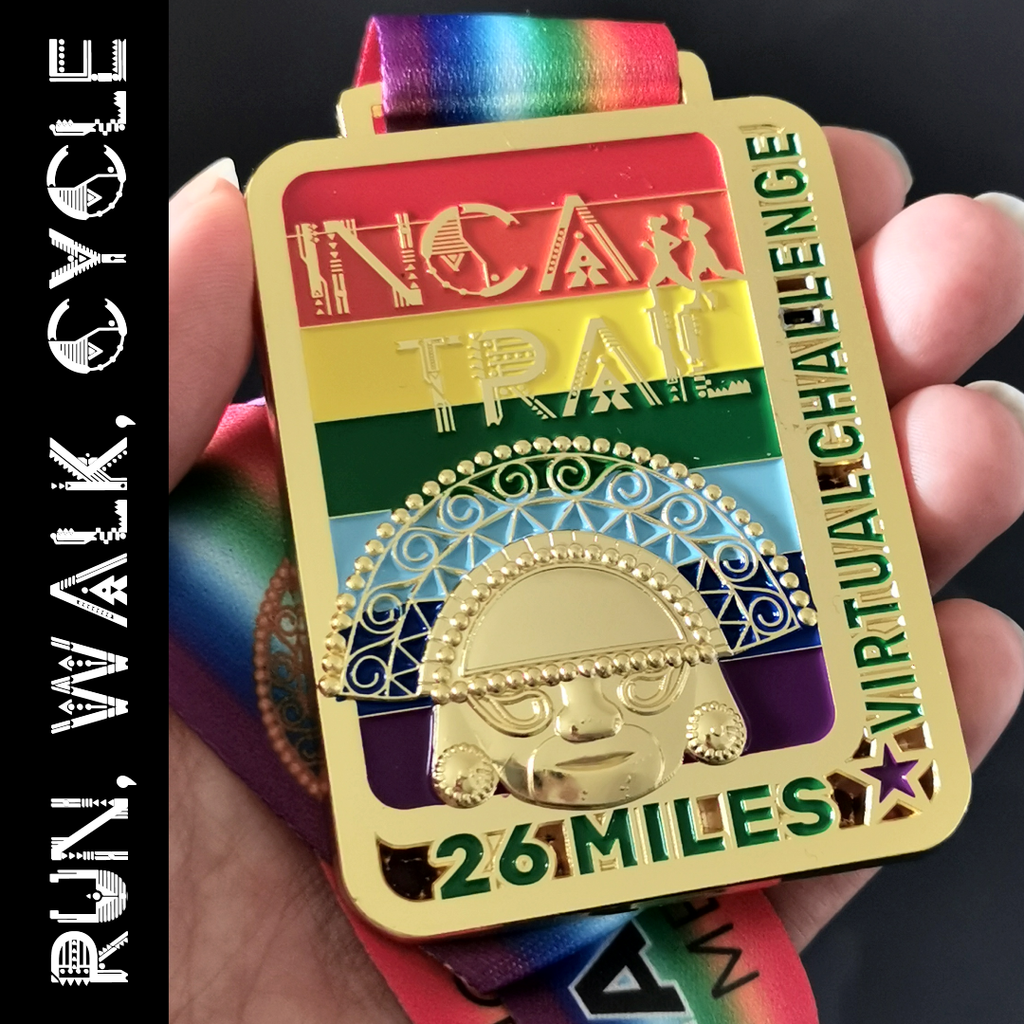 Inca Trail virtual challenge medal