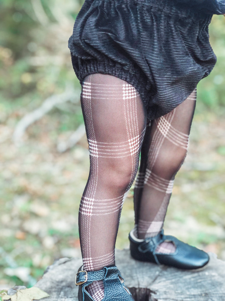 Plaid Mesh Tights RTS