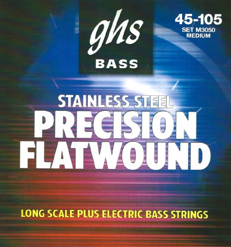 GHS Flatwound Bass Strings