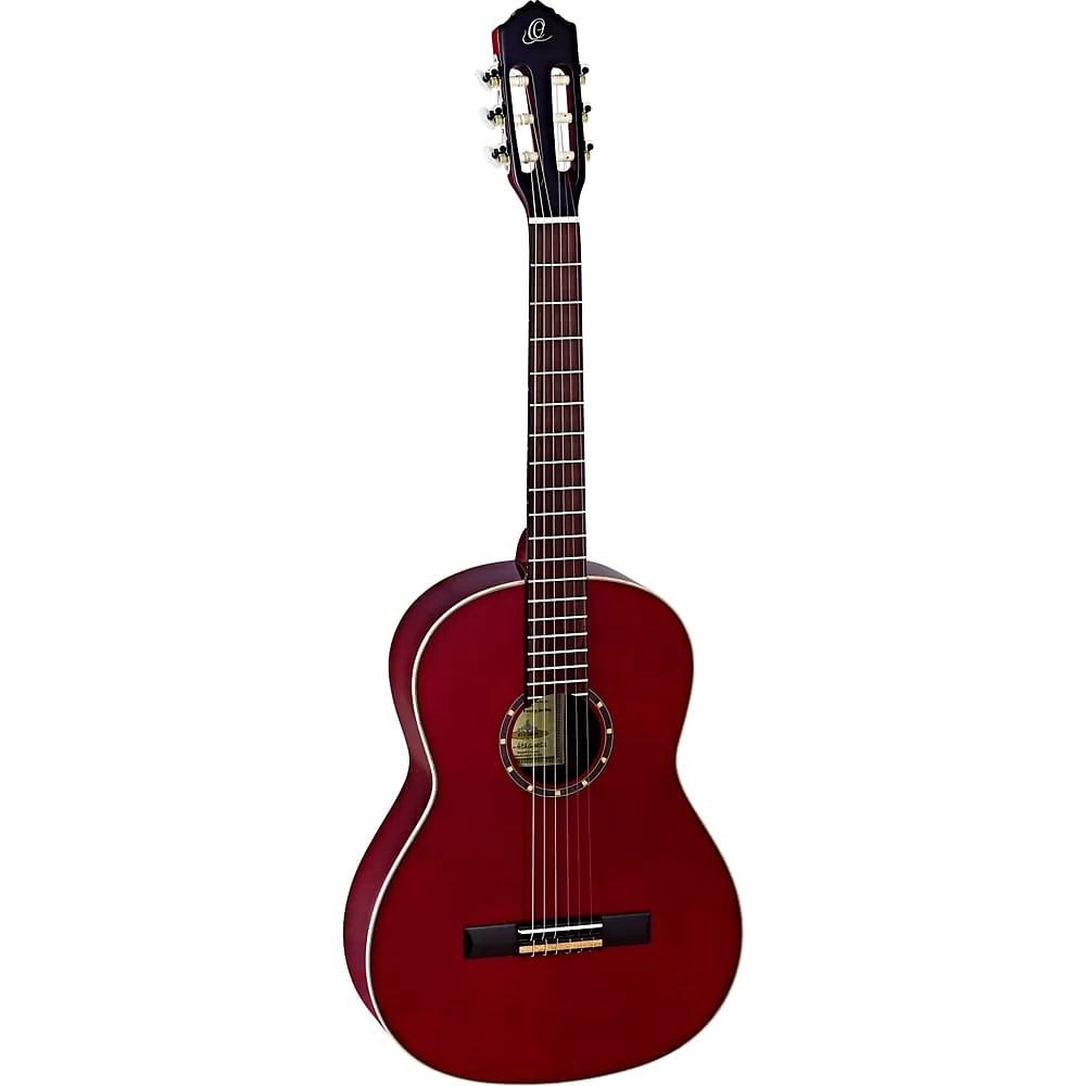 Ortega Guitars R121SNWR Family Series Slim Neck Nylon Wine Red