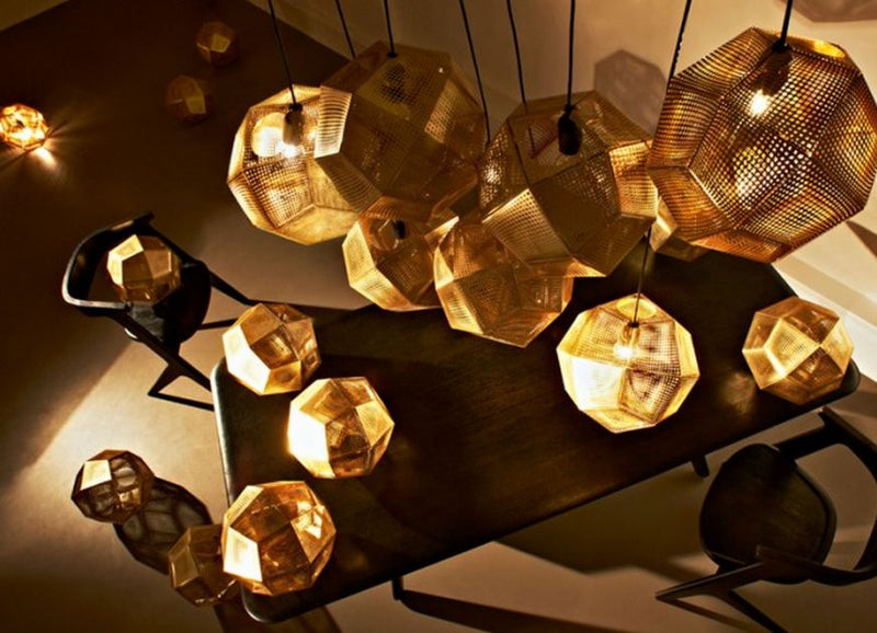 Tom Dixon ETCH Gold