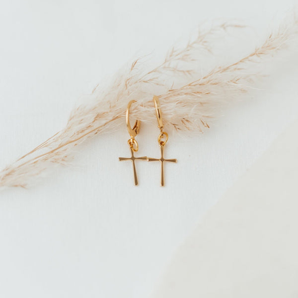 Alive Gold Hoops - Ohrringe - So Loved Manufacture