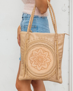 Valentina Leather Tote
