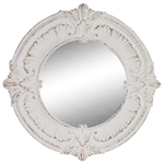 Load image into Gallery viewer, Pressed Metal Round Mirror 98cm