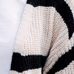 Load image into Gallery viewer, Stripe Knit Cardigan