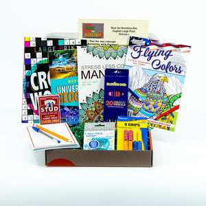 Beat the Boredom Box - Adult Large Print - Volume 1