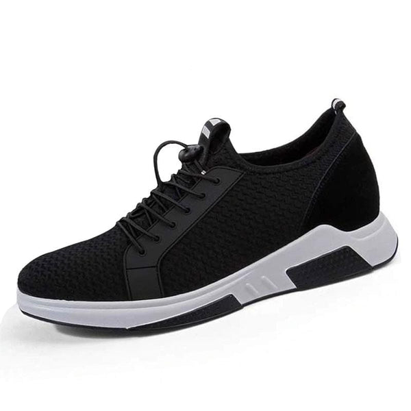 New Summer Casual Mesh sneakers Elevator shoes