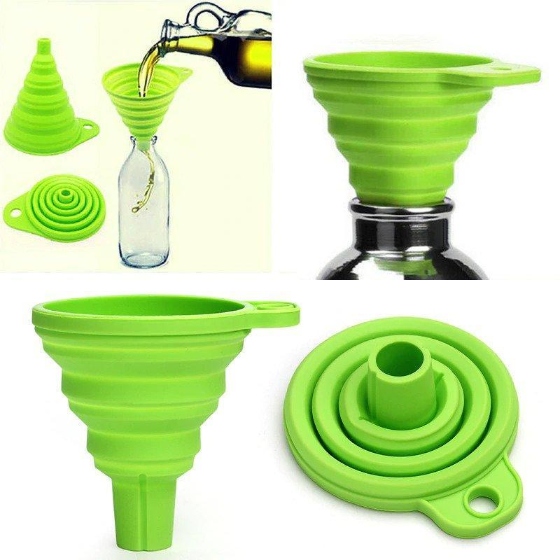Collapsible Silicone Funnel