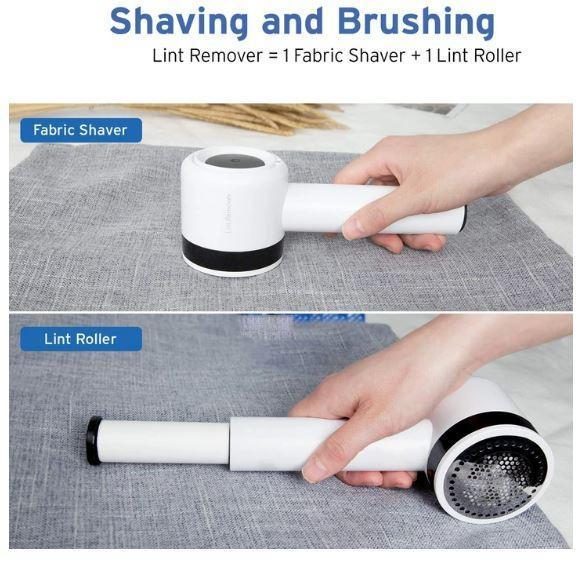 2-in-1 Electric Lint Remover