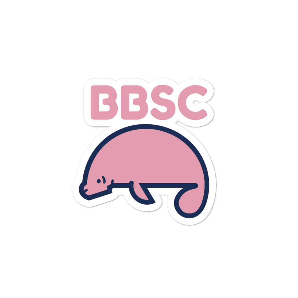 Manatee Sticker