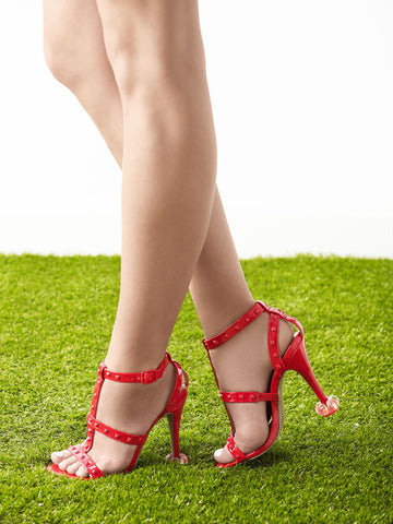 'Rouge' - Red Heel Protectors