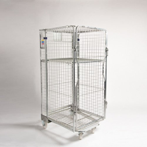 4 SIDED ROLL CAGE FULL SECURITY GALVANIZED