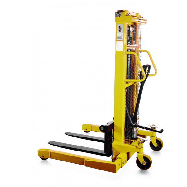 1 TONNE 1.6 METRE LIFT STRADDLE STACKER