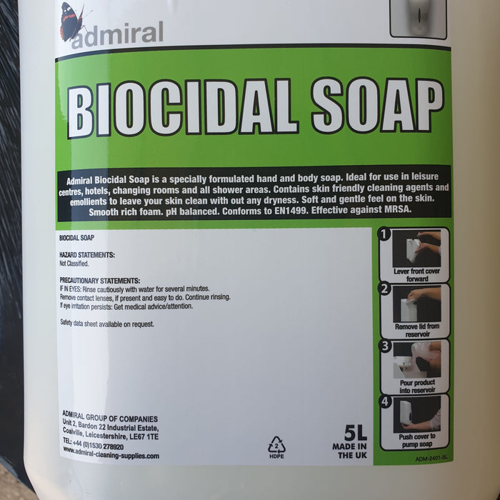 BIOCIDAL SOAP 5L – PACK OF 4