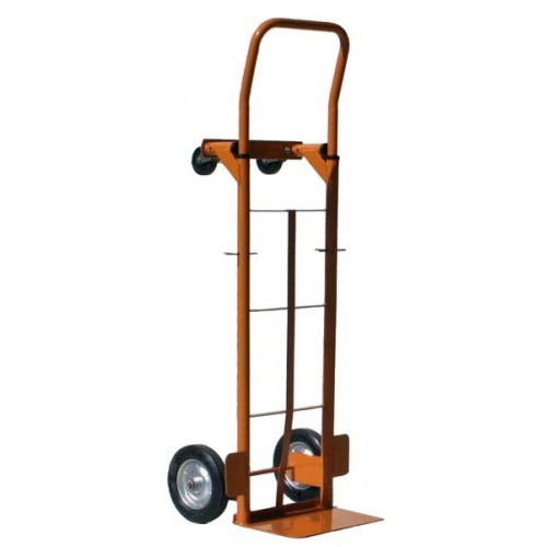 PNEUMATIC WHEEL SACK TRUCK 2-IN-1 250KG CAPACITY