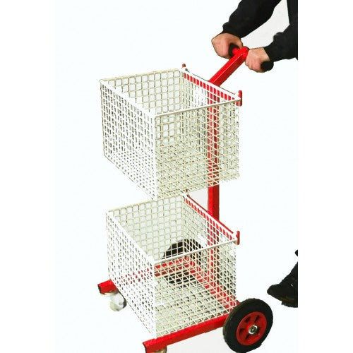 LARGE MAILROOM TROLLEY