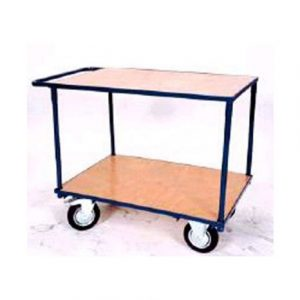 2 TIER SERVICE PICKING TROLLEY 1000 X 700MM
