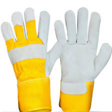 YELLOW RIGGER GLOVES – SINGLE PALM PACK OF 10