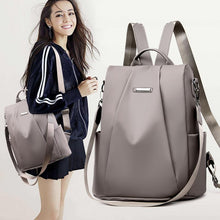 Load image into Gallery viewer, Anti Theft Shoulder Bag Girl Waterproof Oxford Backpack Baitao Leisure Anti-theft