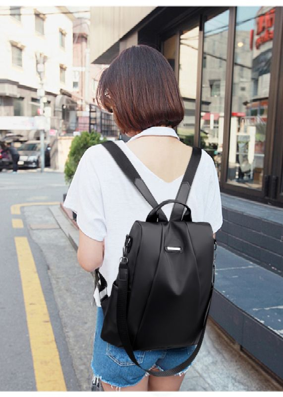 Anti Theft Shoulder Bag Girl Waterproof Oxford Backpack Baitao Leisure Anti-theft