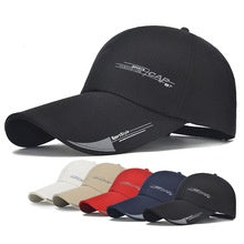 Load image into Gallery viewer, Hat Baseball-cap Snapback Sports-cap Long-visor-brim Bone-gorras Fashion-line Fish Mens