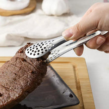 Load image into Gallery viewer, Kitchen Item Stainless Steel Food Clip Baking Barbecue Deep Fried Steak