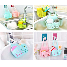 Load image into Gallery viewer, Adjustable Hanging Buckle Type Kitchen Organizer Storage Sponge Holder Rack Tool kitchen item kitchen accessories Kitchen Item