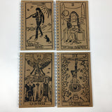 Kurt Cobain and Courtney Love as The Lovers Rock'n Roll Tarot Notebook