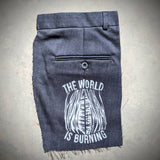 The World Is Burning Patch