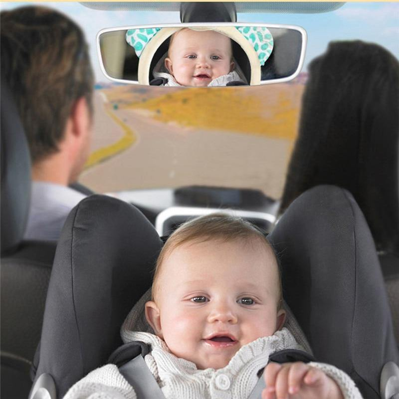 Hanging Backseat Toy Animal Mirror Rearview - SuperDealsZone