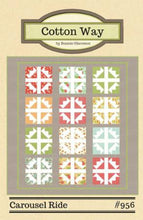 Load image into Gallery viewer, Carousel Ride Quilt Pattern by Cotton Way