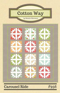 Carousel Ride Quilt Pattern by Cotton Way