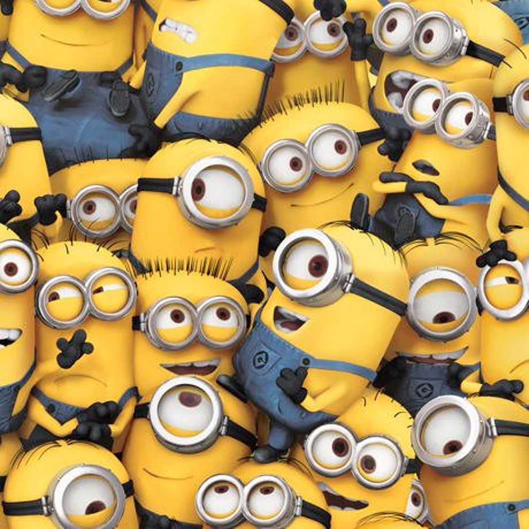 Minions Fabric - Despicable Me