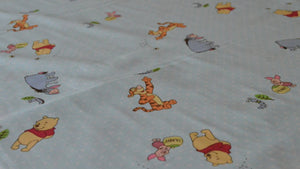 Winnie the Pooh and Tigger Too Fabric