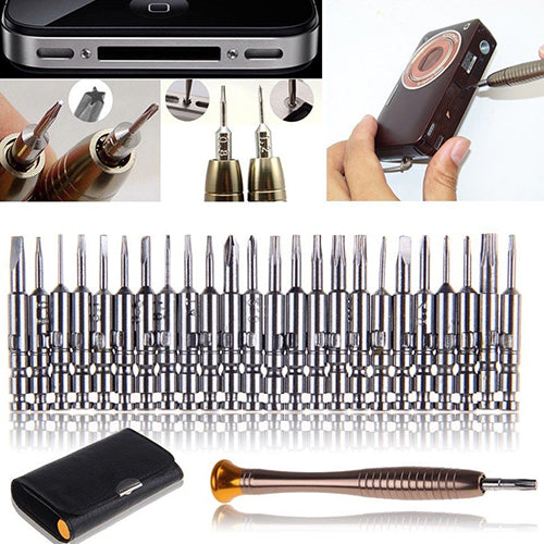 25 in 1 Precision Screwdriver Set Repair Tool for PC Laptop Phone Watch Glasses