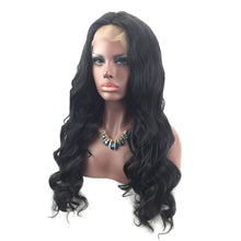 Load image into Gallery viewer, 24 Inches Female Elegant Fashion Long Curly Center Parting Lace Front Full Wig