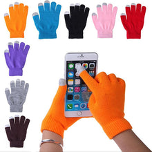 Load image into Gallery viewer, Women Men Winter Soft Warm Texting Capacitive Smartphone Touch Screen Gloves