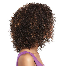 Load image into Gallery viewer, Women Fashion Shoulder Length Mini Curly African American Afro Hair Full Wig